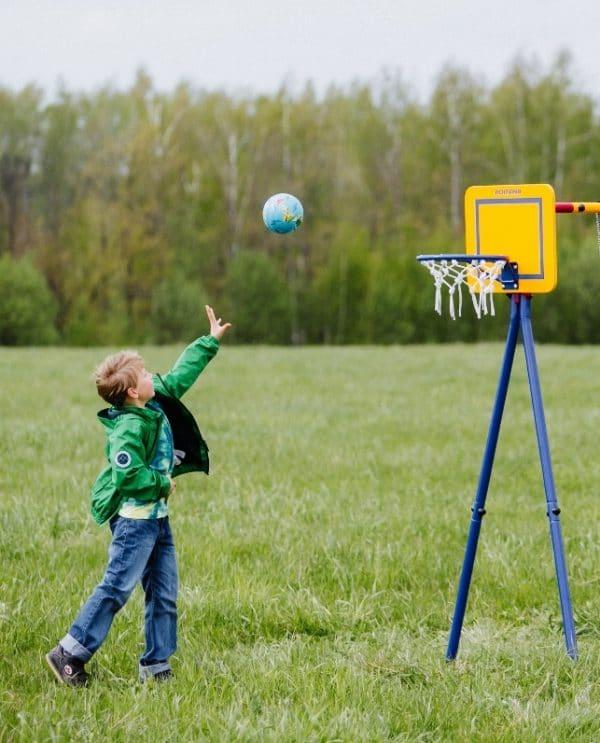 Plac zabaw Akrobata kosz do koszykówki